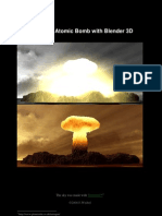 Atomic Bomb Tutorial En blender