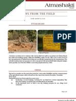 Atmashakti Trust - Progress Report AUg 2010