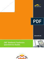 FME Workbench Transformers Quick-Reference Booklet