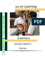 FOL Chapter 6 WCEA Catholic Identity Factor 01-12-12