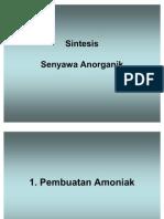 1-Sintesis Senyawa Anorganik