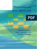 Linear Programming With Matlab