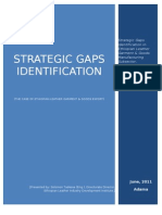 Strategic Gap Identification of Ethiopiopian Leather Garment & Goods