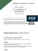 NTUF Raman Spectroscopy Tutorial