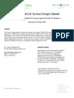1048E- Delta P Valves -- System Design Manual