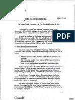 Tony Clement Slush Fund Documents