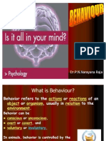 Behaviour by Dr.P.N.Narayana Raja