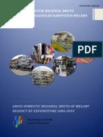 PDRB Penggunaan BPS 2006-2010