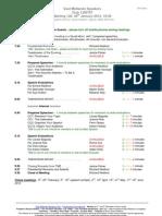 East Midlands Speakers Programme 120 30th January 2012