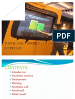 Copy of Touchless Touchscreen