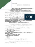 Mate.info.Ro.787 Criterii de Divizibilitate