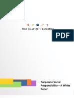 White Paper Philanthropy CSR ( America)
