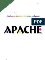 Configurar Autenticación básica en Apache