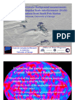 John Carlstrom- New Cosmic Microwave Background measurements with the Degree Angular Scale Interferometer (DASI) at the Amundsen-Scott South Pole Station