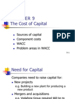 Chapter 9 Cost of Capital