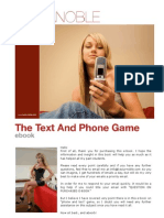 the Text and Phone Game
