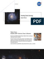 Adam Riess- Testing Dark Energy