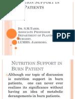 Burns & Nutrition