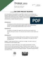 Plank Bearing Design Information
