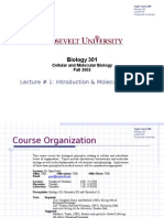 Lecture #1 v2 - Introduction & Molecular Bondng
