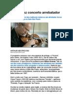 Gidon Kremer Faz Concerto Arrebatador - Violino - música Erudita