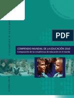 Compendio Mundial de La Educacion 2010 UNESCO