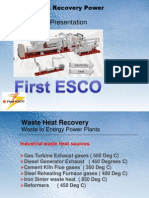 Waste Heat Recovery ORC Power Plant