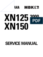 7585102-Yamaha Teos Xn125 Xn150 Workshop Repair Manual Download