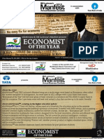 Manfest 2012 Economist of the Year Event Guidelines