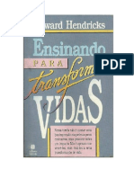 Howard Hendricks - Ensinando Para Trans for Mar Vidas