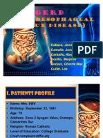 GERD(Gastroesophageal Reflux Disease)