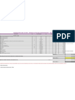 Planilha Modelo de Custos de Eventos
