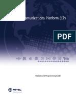 5000 Communications Platform (CP): Mitel