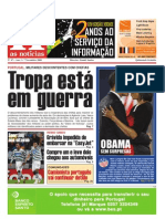 """Primeira Página """"As Noticias"""""""