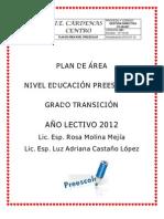 Preescolar_plan de Estudios 2012