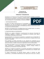 02- Acuerdo sobre Principios y Organización