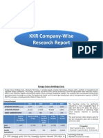 KKR- Consolidated Research Reports