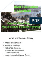 Watershed Science for Teachers Part 1