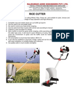 Rice Cutter INR Price_May11