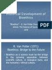 Bioethics 2 Historical Dev't