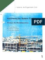 Fichas de Rendimento LNEC