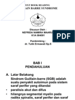 Guillain barre syndrome -  Nefrida Namira Maaruf