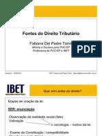 Fontes Do Direito - 2010-2