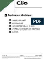 CLIO 3 - Equipement Electrique 2