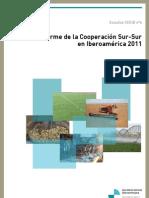 Informe de la Cooperación Sur-Sur en Iberoamérica 2011