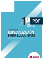 Folleto del 1PEE- 2012