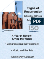 Signs of Resurrection Annual Report 2011