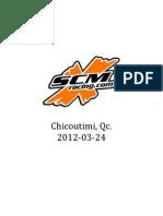 Chicoutimi, Qc - 2012