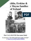 The Echlin, Erskine & Sinclair Mayne families of Ireland