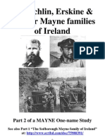 The Echlin, Erskine & Sinclair Mayne families of Ireland